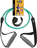 GoFit Resistance Power Tubes/Bands - Resistance Training Workout 15 lbs. - Green