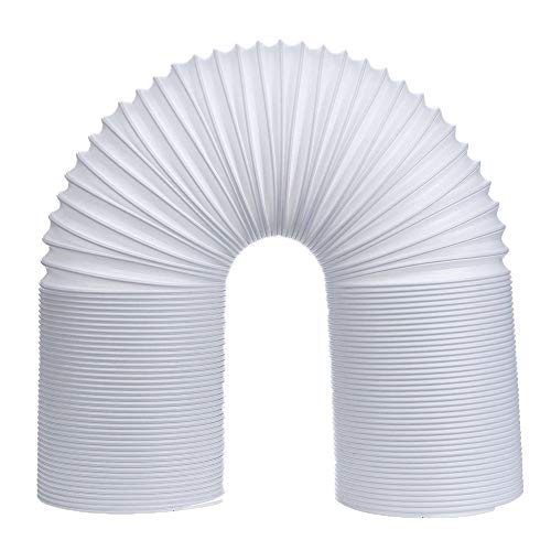 Kentop - Tubo Flexible para Aire Acondicionado (PVC, 1,5 m, 130 mm de diámetro), Ø130mm, Länge 1.5M