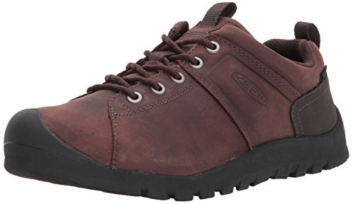KEEN Men's Citizen Low wp-m Hiking Shoe, Gibraltar/Fudgesickle, 11.5 M US