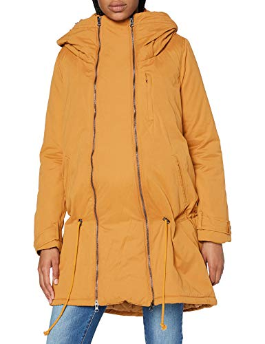 MAMALICIOUS Damen Mltikka 3in1 Carry Me Padded Jacket A. Jacke, Buckthorn Brown, L EU