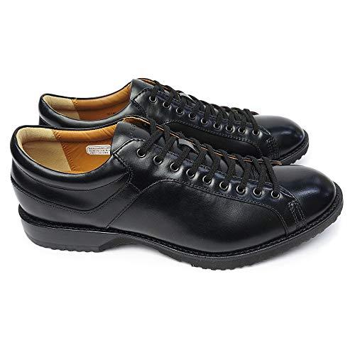 [リーガル] 靴 57RR カジュアルシューズ メンズ レザー レースアップ ブラック 24.0cm