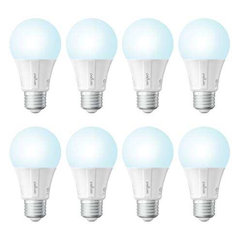 Sengled Smart Light Bulb, Smart Bulbs that Work with Alexa & Google Home (Hub Required), Smart LED Light Bulbs with Daylight, 9W (60w Equivalent), 800LM, 8 Pack