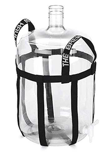 BREW HAULER CARBOY STRAP - A NYLON SLING CARRIER FOR WINE BEER HOME BREWING KIT