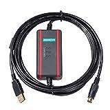 USB-FBS-232P0-9F para la línea de descarga de datos del cable de programación del PLC de la serie FATEK FBS (Aislamiento de chip FTDI)