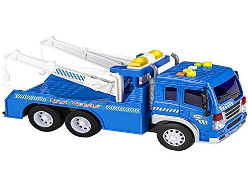 Motor Planet City Service Camión Grúa Luz y Sonidos