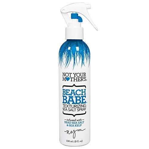 Not Your Mothers Beach Babe Texturizing Sea Salt Spray 8 Ounce (235ml) (6 Pack)
