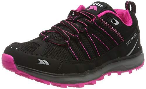 Trespass Triathlon, Chaussures de Trail, Noir (Black), 35 EU