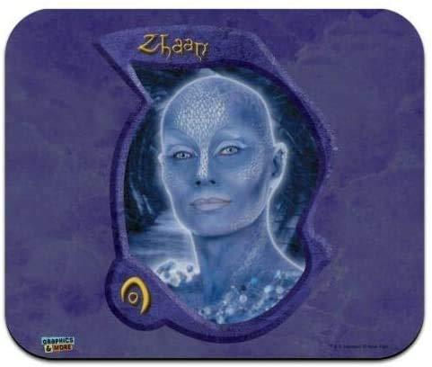 Farscape Pa 'u Zotoh Zhaan Delvian Dünnes Mauspad mit niedrigem Profil Mauspad, Gaming-Mauspad