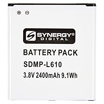 Synergy Digital Cell Phone Battery Works with Samsung Galaxy J2 2018 Duos TD-LTE Cell Phone  Li-Ion 3.8V 2400mAh  Ultra Hi-Capacity Compatible with Samsung EB-BG530 Battery