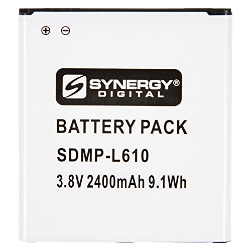 Synergy Digital Cell Phone Battery, Works with Samsung Galaxy J2 2018 Duos TD-LTE Cell Phone, (Li-Ion, 3.8V, 2400mAh) Ultra Hi-Capacity, Compatible with Samsung EB-BG530 Battery