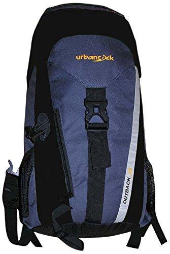 Urban Rock Outback 25 Sac à Dos de randonnée Noir/Gris 900 g