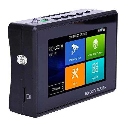 AHDテスターリストスタイルのIPカメラモニターIPカメラ用のアナログビデオ画像ディスプレイを備えた4インチのタッチスクリーンIPCテスター(100V-240V U.S. plug)