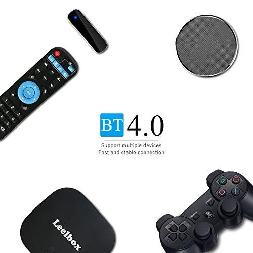 2018 Newest Leelbox Q2 mini Android 7.1 TV Box 2GB+8GB with BT 4.0 Supporting 4K (60Hz) Full HD /H.265 /WiFi Smart TV Box