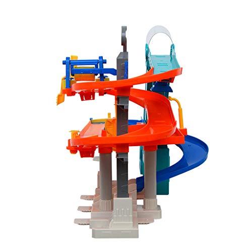 LINGLING-Verfolgen Schienen Spielzeug Kinderspur Spielzeugspur Elektro-Multifunktionsauto Weltspur Kinderspielzeug Junge Spielzeugspur Weihnachten Ostergeschenk (Size : L)