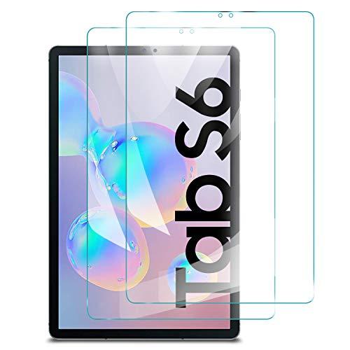 (2 piezas)Luibor Samsung Galaxy TAB S5E/S6 10.5 Inch Tablet Protector de pantalla de vidrio templado…
