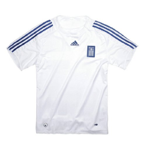 Adidas Griechenland GRE H JSY Trikot, White/Satellite, Gr. XXL