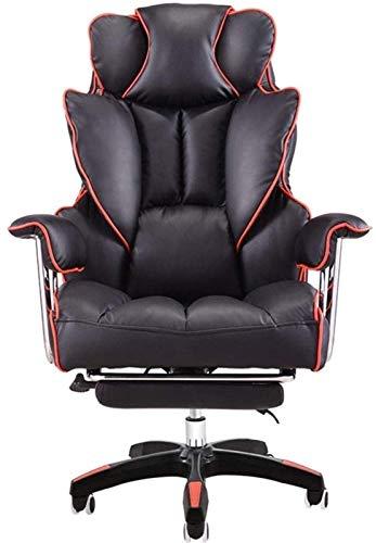 TUHFG Liegestuhl E-Sports Stuhl Höhenverstellbarer, Computerstuhl Home Büro Schreibtisch Stuhl Fußpedal Für Arbeit Gaming Knienstuhl