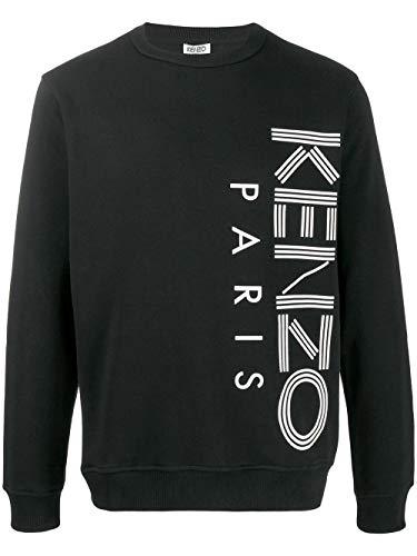 Kenzo Luxury Fashion Herren F965SW1324MD99 Schwarz Baumwolle Sweatshirt | Frühling Sommer 20
