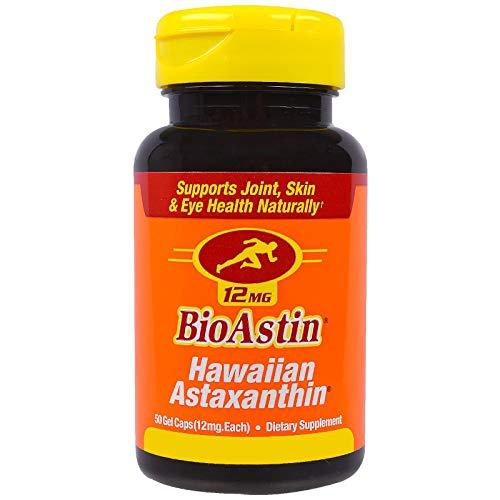 Nutrex Hawaii, BioAstin, Hawaiianisches Astaxanthin 12mg Depot, alle 2 Tage eine Kapsel, 50 Kapseln