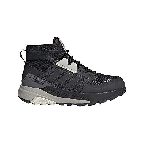 adidas Terrex Trailmaker Mid R.RDY K, Botas de Senderismo, NEGBÁS/NEGBÁS/ALUMIN, 33 EU