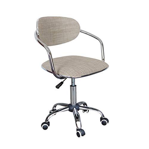 SACKDERTY Bürostuhl Computer Hebe Drehstuhl Studie Büro Schreibtisch Stuhl Rattan Weben Rückenlehne für Haus/Büro/Arbeitszimmer