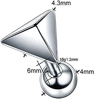 1 pcs Steel Ear Tragus Cartilage Piercing Crystal Flower Conch Lobe Earrings Barbell Piercing Ear Stud Helix Sexy Jewelry,7