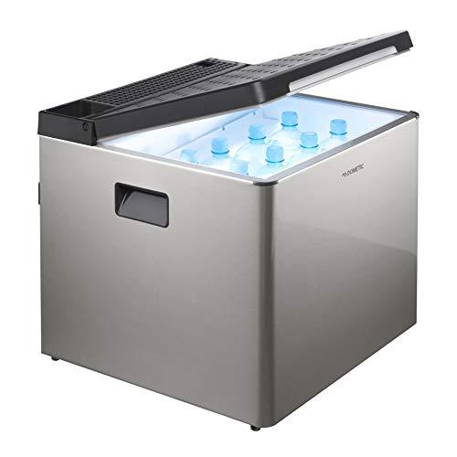 DOMETIC ACX3 40 G elektrische Absorber-Kühlbox mit 12/230 V und Gas-Anschluss, Betrieb mit Gaskartusche, lautloser Mini-Kühlschrank