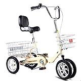 Triciclo Adulto 4 Bicicletas de ruedas adultos adultos mujeres...