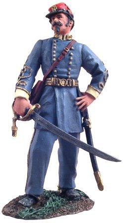 W. Britain 31080 Confederate General P.G.T. Beaureguard