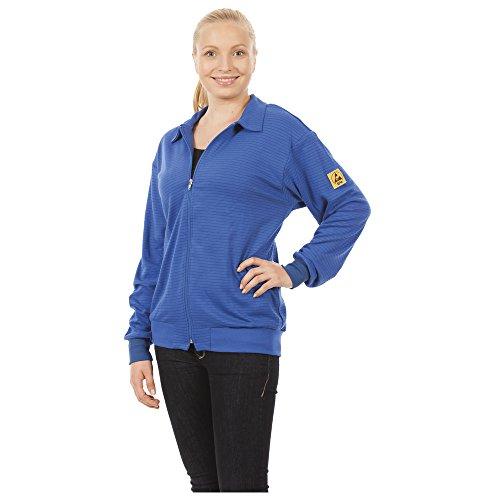 Warmbier ESD-Sweatjacke, Größe L, blau