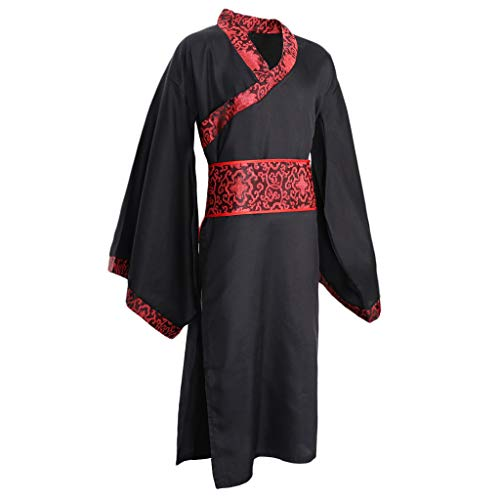 Verbesserte Chinesische Hanfu Alten China Tang Anzug Robe Kleid Cosplay Kostüm Männer - XL