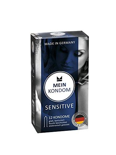 MEIN KONDOM Sensitive Kondome - 12er Packung Made in Germany