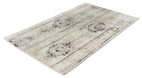 Kleine Wolke Badteppich, Silbergrau, 60 x 100 cm