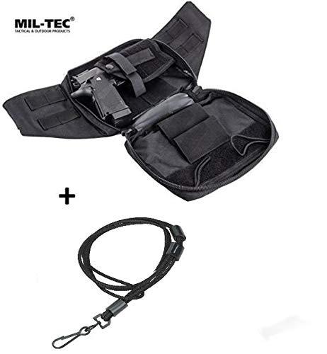 MIL-TEC Marsupio borsa fondina per pistola asportabile Beretta Glock con correggiolo