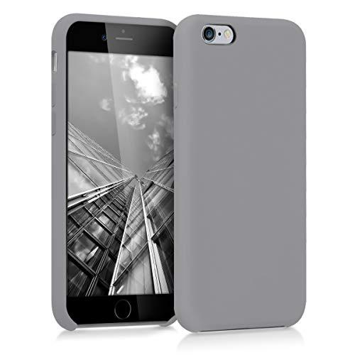kwmobile Hülle für Apple iPhone 6 / 6S - Hülle Handyhülle gummiert - Handy Hülle in Titanium Grey