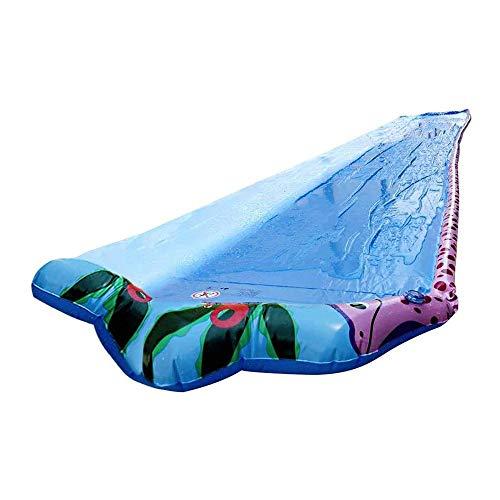 BZLLW Tobogán de agua, agua de la piscina de los niños inflables Kid diapositivas for adultos de diapositivas for adultos-niños de agua de diapositivas Jardín de agua disperso juguete del verano for e