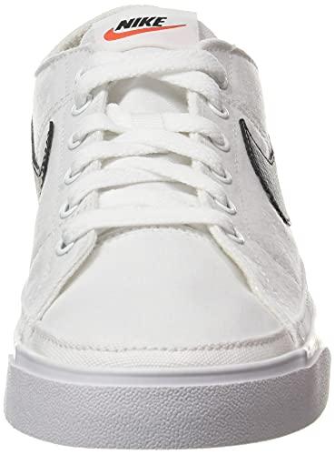 Nike Court Legacy Cnvs, Zapatillas de Gimnasio Hombre, White/Black, 42 EU