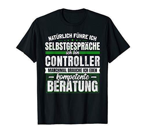 Geschenk Controller Lustiges Controlling Finanzen T-Shirt