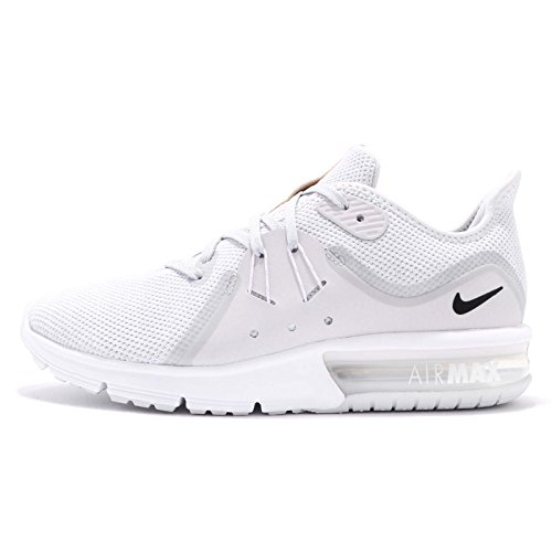 Nike Air Max Sequent 3 (5, Pure Platinum/Black/White 2)