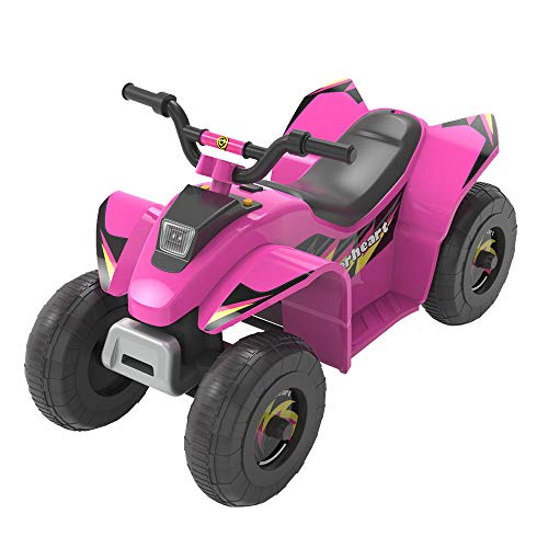 HOVER HEART 6V Electric Mini ATV Quad, 4 Color Beach Car Ride on Equiped with Backward and Forward...