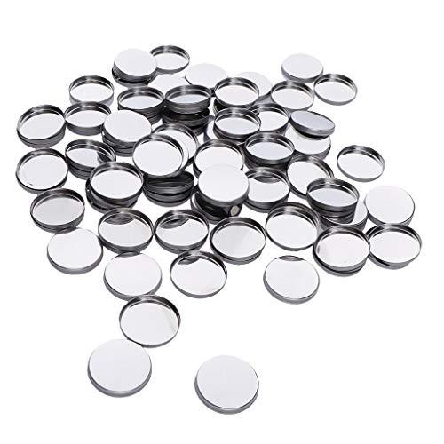 100pcs Leere Pfännchen für Magnetische Kosmetische DIY Palette Lidschatten Palette Pfannen - Runde