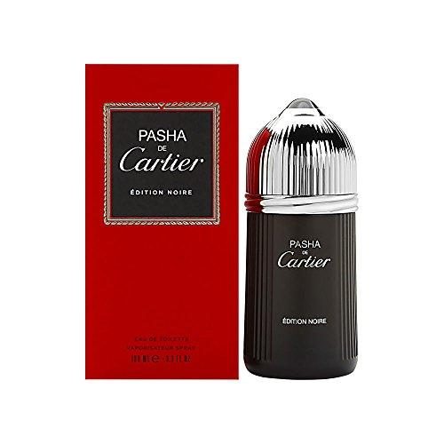 Pasha de Cartier Edition Noire for Men 3.3 oz Eau de Toilette Spray