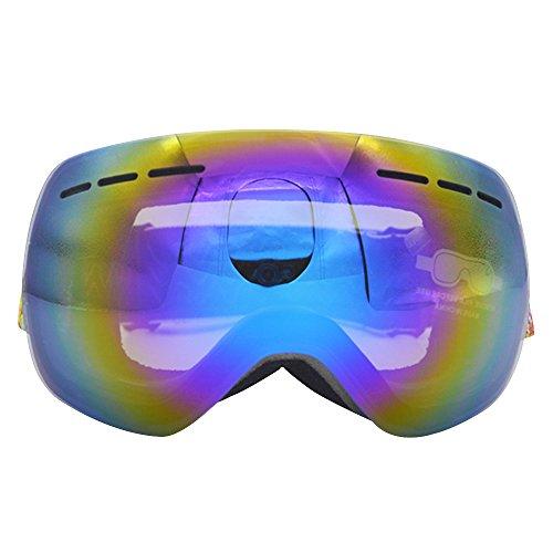 Sijueam Lunettes de Protection de Yeux Visage Masque pour sport de plein air Anti-UV coupe-vent Anti-sable Anti-poussière pour Activités Extérieures vélo Moto Cross VTT Ski Snowboard Cyclisme Goggles