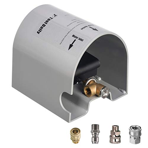 Tool Daily Pressure Washer Foot Valve for Sewer Jetter Kit, as Power Washer Ball Valve, 4000 PSI