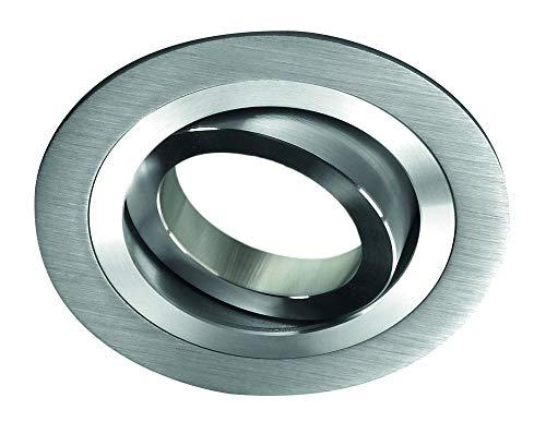 CristalRecord Helium - Spot encastrable, rond, aluminium