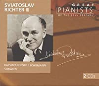 Great Pianists of the 20th Century - Sviatoslav Richter, Vol. 3 (1999-07-20)