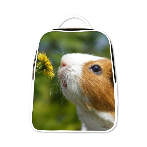 2017 New Arrival Animals Pig Guinea Pig Theme lovely child,PU Leather,School Bags for Kid school backpacks