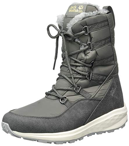Jack Wolfskin Women's Nevada Texapore High W Hiking Boot, Dark Grey/Light Grey, 10