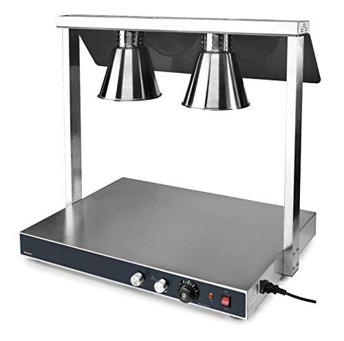 Lacor 69562 Calentador de buffet, Plata