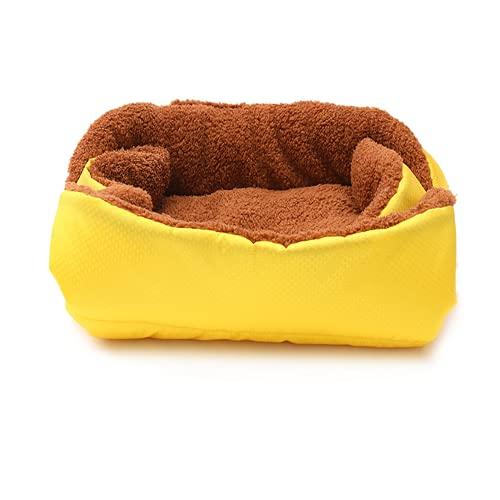 zzook Saco de Dormir Gato Cama de Felpa para Cachorros y Perros Cama para Perros Sofá para Perros Invierno Cálido Nido de Mascotas Cama